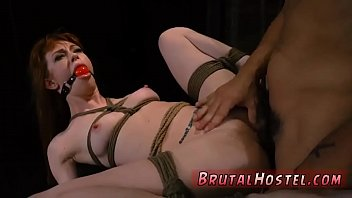 girl country bondage Pee his mouth on bed