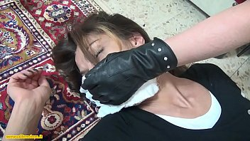 in of husband force woman tied asian front Victim of education